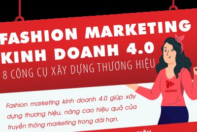 [INFOGRAPHIC] Fashion Marketing kinh doanh 4.0: 8 công cụ xây dựng thương hiệu